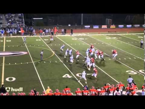 Cullen Clairmont 2013 Cheshire High School Varsity Football