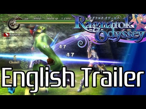 PS Vita - Ragnarok Odyssey Official English Trailer
