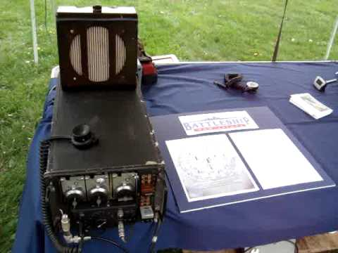 WWII Naval Aircraft Radio Demonstration