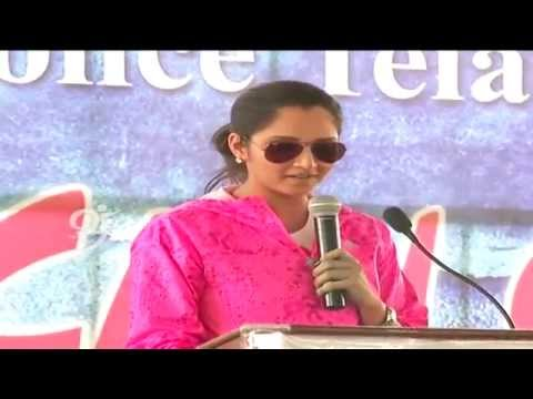 Sania Mirza Participates In against Child Sex Abuse Launched By Cid Police  Telangana - 99tv video