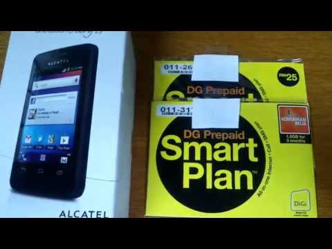 Unboxing Alcatel OneTouch Glory 2S ( 4010x )