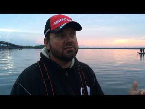 Strike King Pro Greg Hackney St. John's River Bassmaster Elite