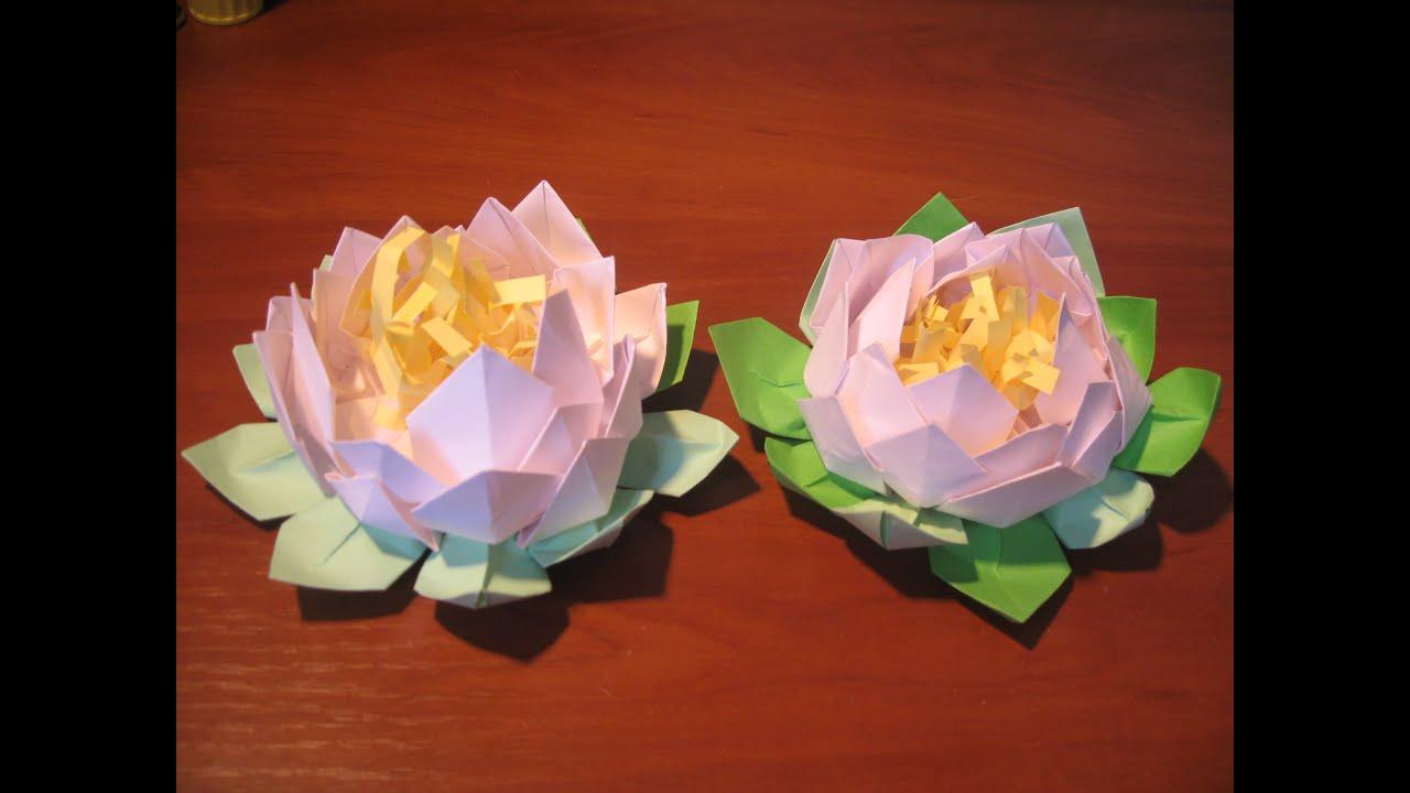 Цветы бумажные поделки 39