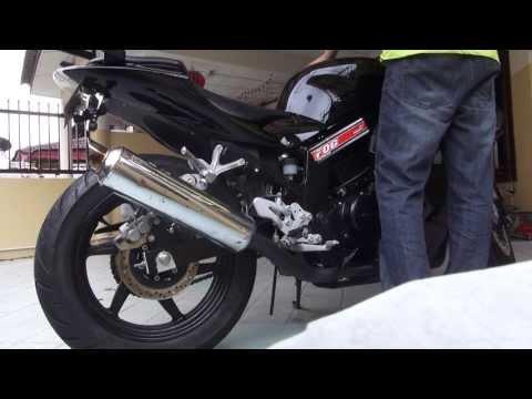 Naza Blade GT250R / Hyosung GT250R Stock Exhaust Sound V2