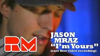 Jason Mraz I m Yours LIVE Official RMTV Acoustic Rare Early Performance