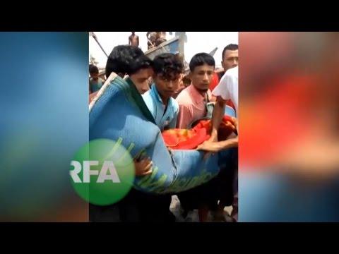 Capsized Boat Kills 22 in Myanmar