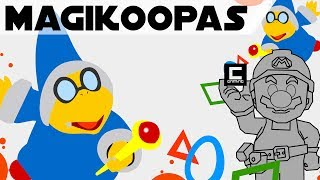 """Tips, Tricks and Ideas with Magikoopas in Super Mario Maker, or """"The Secret in the Tower""""."""