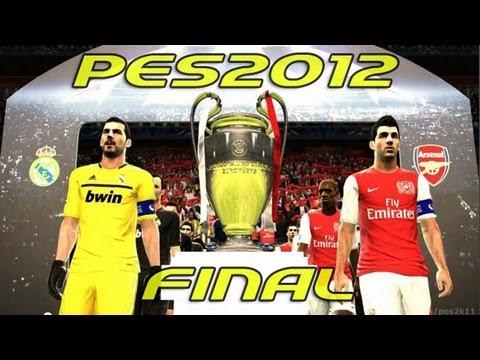 REAL MADRID vs ARSENAL - FINAL Champions League - Munich - PES 2012