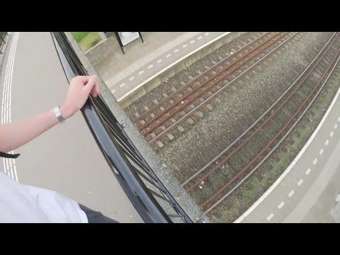 Vlogger Willem Vink uit Sambeek riskeert celstraf met levengevaarlijk rit bovenop een trein