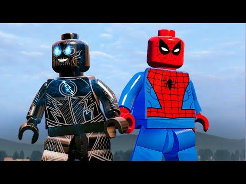 ЗУМ И СПАЙДИ в LEGO Marvel's Avengers