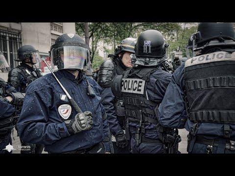 LOI TRAVAIL 19/5/2016 • PARIS : MANIFESTATION SOUS CONTRÔLE