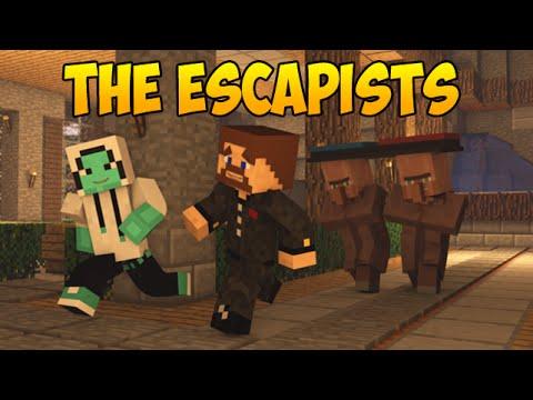 The Escapists В МАЙНКРАФТЕ | Побег из тюрьмы