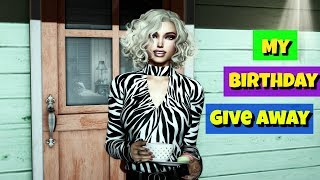 My birthday GIVE AWAY | SECOND LIFE