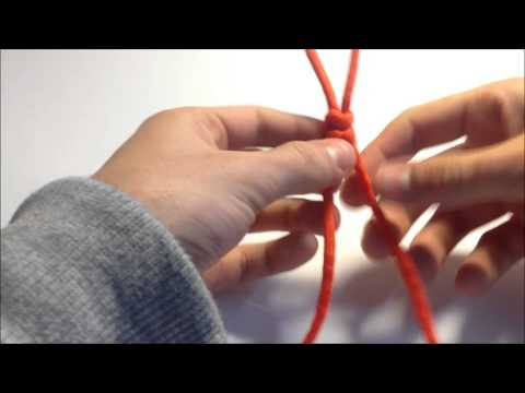 How to Tie / make a Snake knot paracord Lanyard ( Chris Reeve )