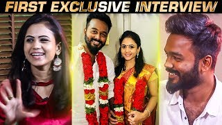 Story behind Register Marriage  VJ Manimegalai Reveals about her relationship with Hussian
