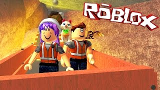 ROBLOX ESCAPE THE MINE OBBY | I LAVA U! | RADIOJH GAMES & MICROGUARDIAN