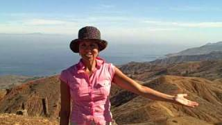 Hiking on Silver Peak, Catalina Island, CA