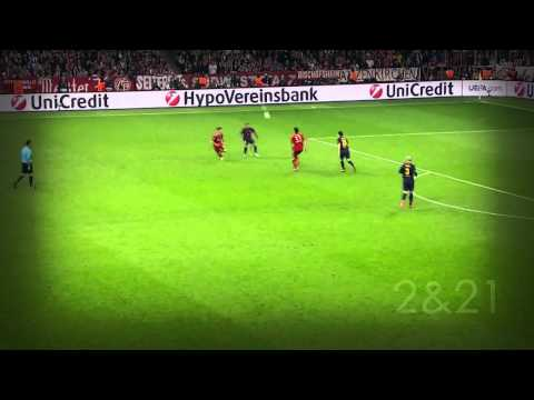 Thomas Müller VS. FC Barcelona - CL Semi Final 12/13 [HD]