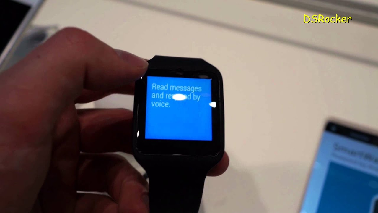 Sony SmartWatch 3 SWR50 IFA Berlin 2014 (DSRocker)