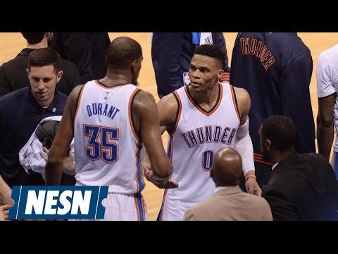 Westbrook, Durant Could Become All-Time Great Sports Rivalry