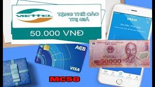 Moca | Kiếm tiền thẻ cào điện thoại 50.000đ chỉ vài bước