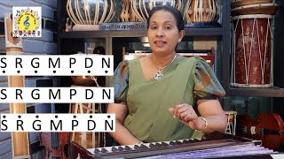 12. How to sing on pitch (Sinhala Vocal Lesson) | Rathna Deepa Janma Bhoomi Song