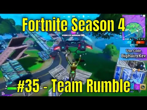 Fortnite Season 4 #35 - Team Rumble