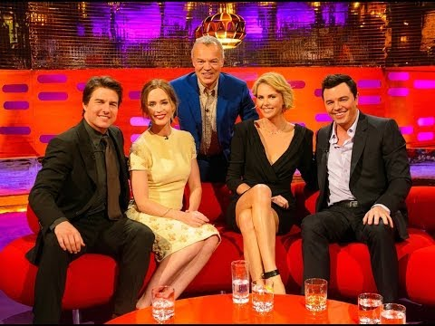 The Graham Norton Show with Tom Cruise, Emily Blunt, Charlize Theron, Coldplay (русские субтитры)