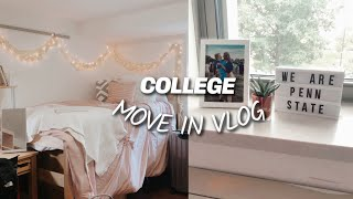 COLLEGE MOVE IN DAY VLOG 2019: FRESHMAN YEAR @PENN STATE