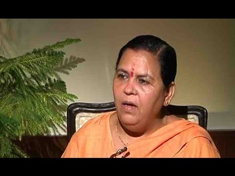 'Sabse achche din' for Ganga: Union Min for Ganga Rejuvenation, Uma Bharti