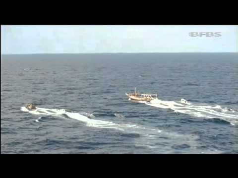 Royal Marines capture Somali pirates 16.01.11