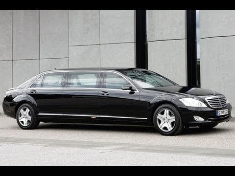 Mercedes S 600 Pullman - Indian President's car (Pranab Mukherjee)