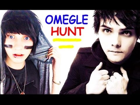 OMEGLE HUNT WITH MY CHEMICAL ROMANCE??? Featuring Johnnie Guilbert & BryanStars Interview 2014