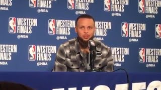 Stephen Curry on his bounceback game / Warriors vs Rockets Game 3