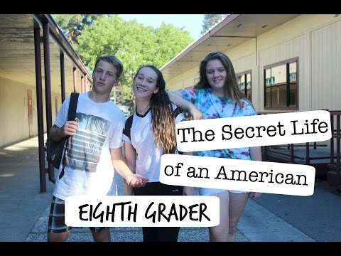 SECRET LIFE OF AN AMERICAN 8TH GRADER (short film!)
