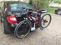 Автобагажники для перевозки велосипедов Велокрепление на фаркоп Bgznk Express mp3