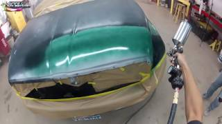 For Newbies-  Auto Body And Car Painting Footage- Step by Step DIY SPECIAL