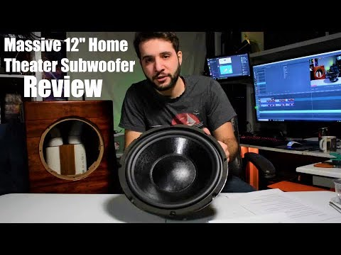 12 inch Subwoofer Box Build, Review and Teardown