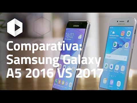 Comparativa Samsung Galaxy A5 2016 VS Galaxy A5 2017