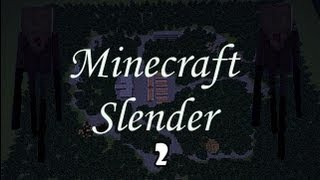 SLENDER IN MINECRAFT #2-The Newest Slender Map For MC + REAL SLENDER IN IT