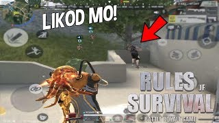 Playing with RANDOM Players | I Choked | Rules of Survival