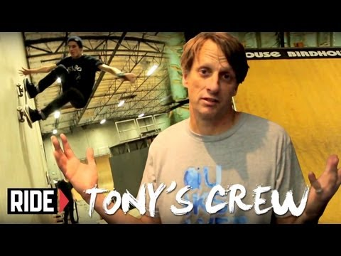 Tony Hawk &amp; Birdhouse Crew Shred the New Park - Tony's Crew