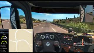 ETS2MP Driving with GlobEx Map - Job 1