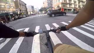 Gopro: NYC riding on cannondale bad boy 1