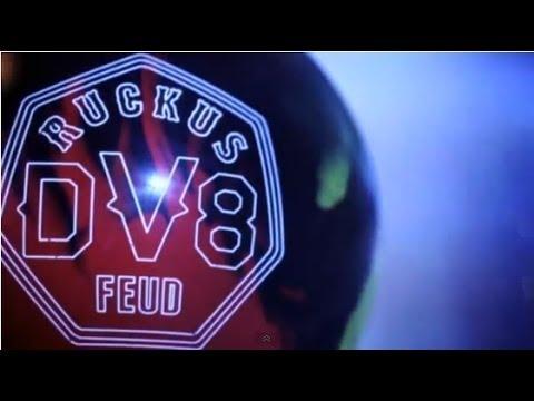 DV8 Ruckus Feud Bowling Ball Reaction