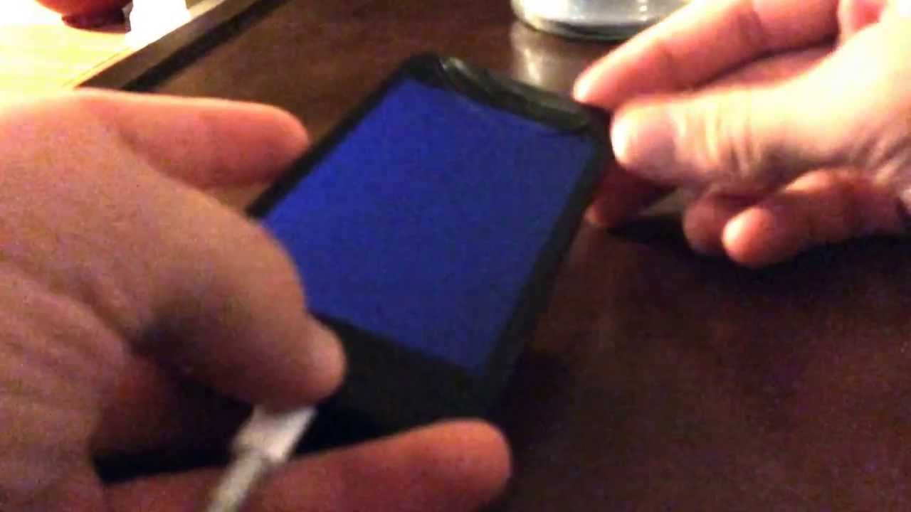 Death Screen Iphone Iphone 5 Blue Screen And Boot