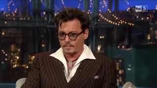 David Letterman - Johnny Depp (sub ITA)