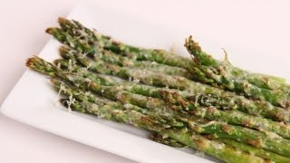 Parmesan Roasted Asparagus Recipe - Laura Vitale - Laura in the Kitchen Episode 370