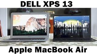 """Dell XPS 13 Vs 13"""" MacBook Air - Ultimate Ultrabook Comparison"""