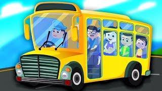 bánh xe trên xe buýt | bài hát cho trẻ em | Wheels On The Bus | Kids Songs